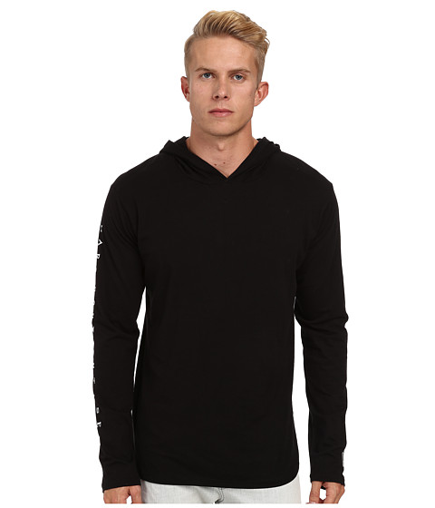Marc Ecko Cut & Sew - Heartbreaker L/S Knit Hoodie (Black) Men's Sweatshirt
