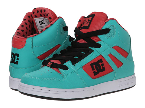 DC Kids - Rebound SE (Little Kid) (Watermelon) Girls Shoes