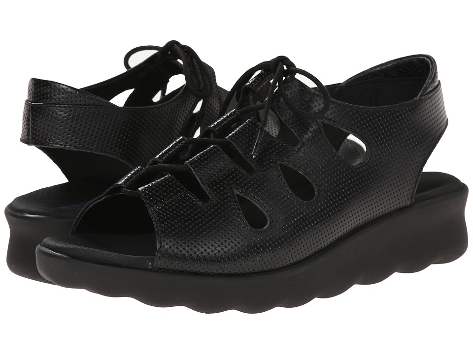 Wolky - Natu (Black) Women's Sandals