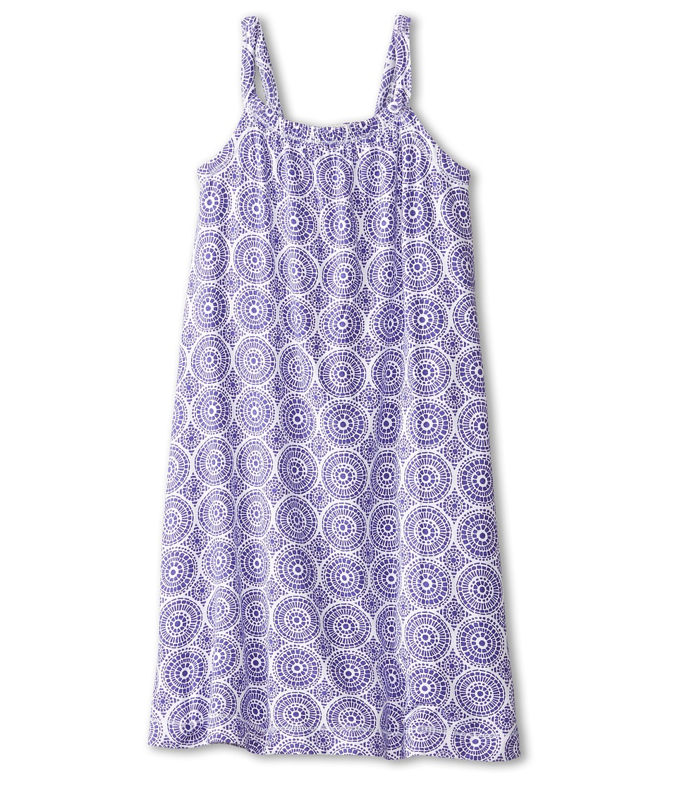 Hatley Kids - Deep Purple Mosaic Shirred Dress (Toddler/Little Kids/Big Kids) (Purple) Girl