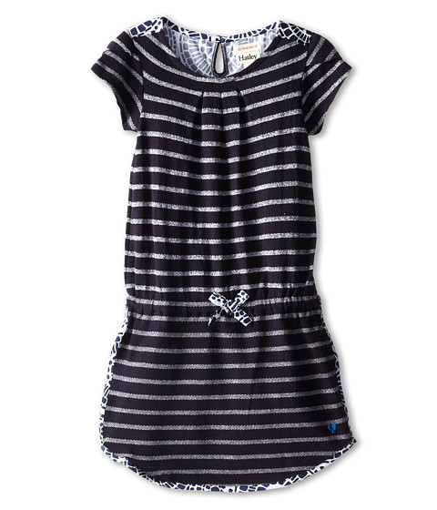 Hatley Kids - Nautical Stripes Petal Sleeve Dress (Toddler/Little Kids/Big Kids) (Blue) Girl's Dress