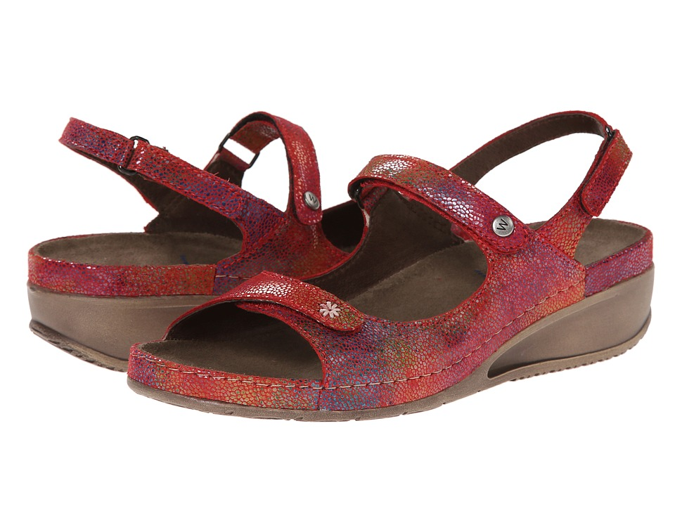 Wolky - Tsunami (Red) Women's Sandals