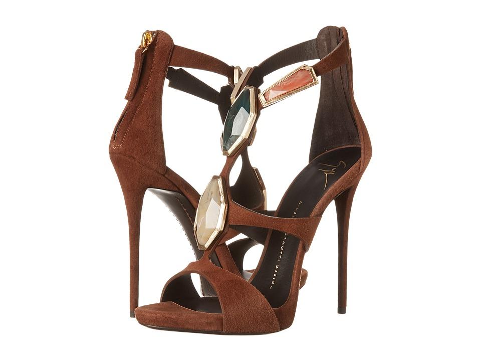 Giuseppe Zanotti - E50378 (Brown) High Heels