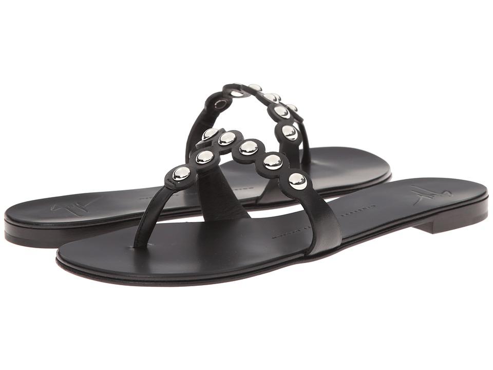 Giuseppe Zanotti E50315 Black Womens Toe Open Shoes