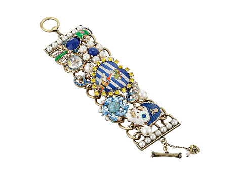 Betsey Johnson - Shipshape Mixed Media Toggle Bracelet (Multi) Bracelet