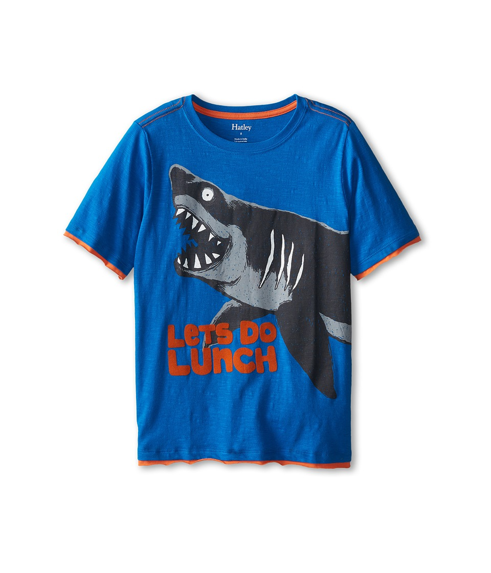 Hatley Kids - Sharks Graphic Tee (Toddler/Little Kids/Big Kids) (Blue) Boy's T Shirt
