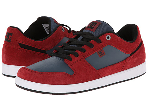 DC - Complice (Dark Red) Men's Shoes