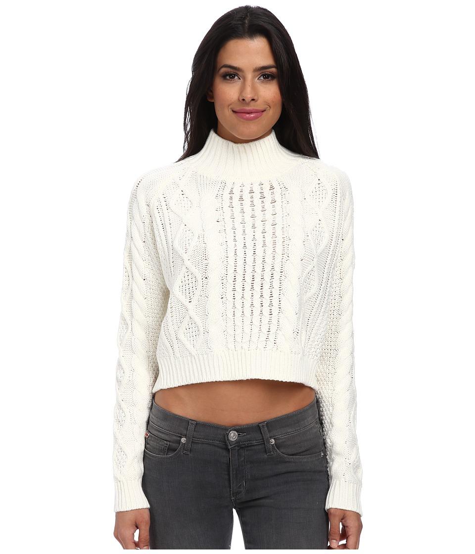 MINKPINK - Chalet Girl Jumper (Off White) Women's Sweater