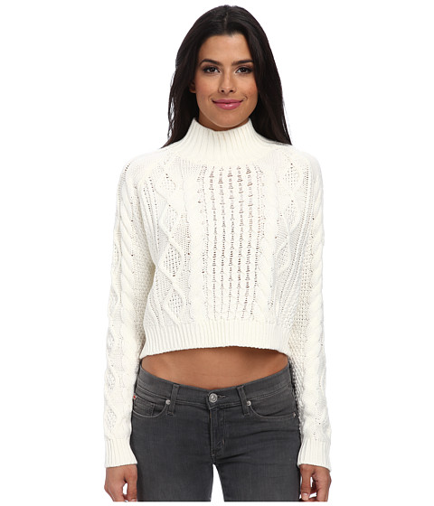 MINKPINK - Chalet Girl Jumper (Off White) Women's Sweater