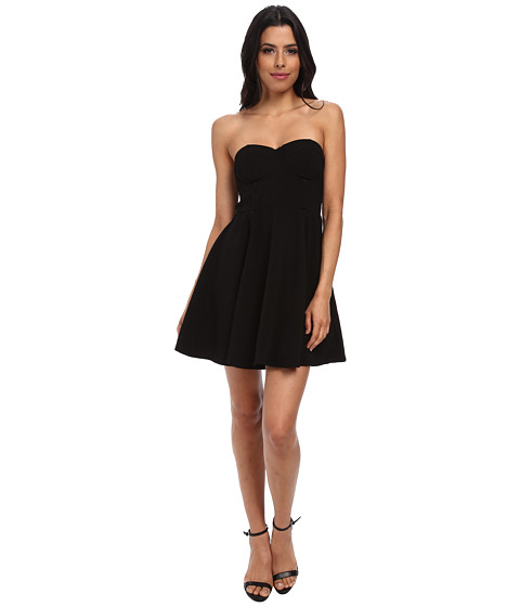 MINKPINK - Meet at Midnight Dress (Black) Women's Dress