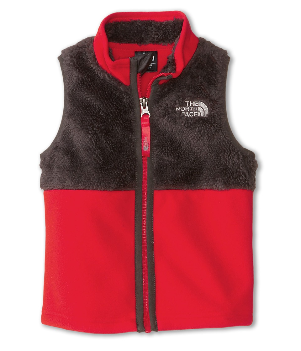 The North Face Kids - Chimborazo Vest (Toddler) (Graphite Grey/Fiery Red) Boy's Vest