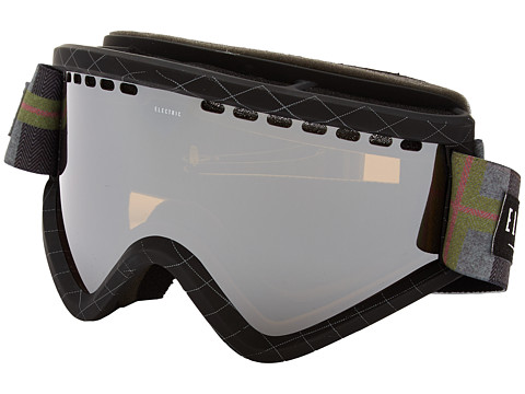 Electric Eyewear - EGV Elctric X JSLV + Bonus Lens (Bronze/Silver Chrome) Snow Goggles