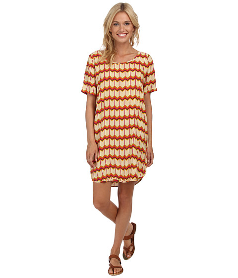 Roxy - Retro Row Woven Dress (Lark Dakota/Geo) Women