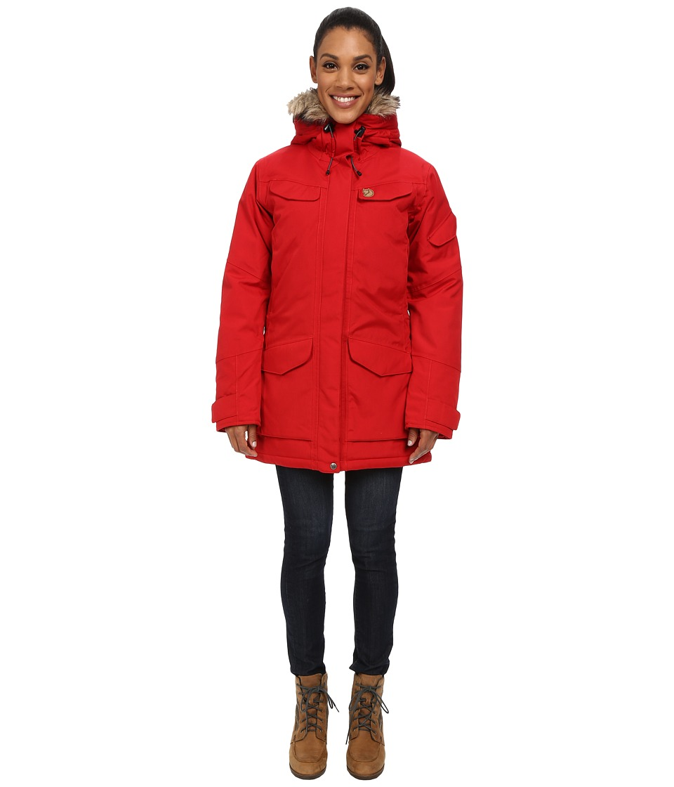 Fj llr ven - Nuuk Parka (Red 1) Women's Coat