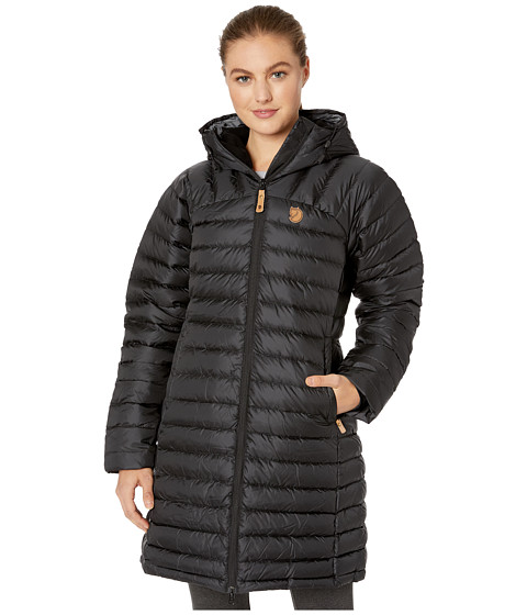 Fj llr ven - Snow Flake Parka (Black) Women's Coat