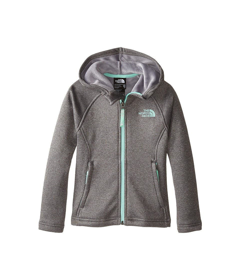The North Face Kids - HW Agave Hoodie (Little Kids/Big Kids) (Heather Grey) Girl's Sweatshirt