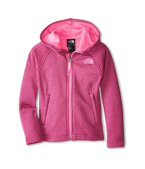 The North Face Kids - HW Agave Hoodie (Little Kids/Big Kids) (Luminous Pink) Girl's Sweatshirt
