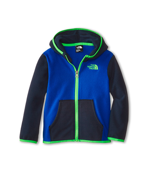 The North Face Kids - Glacier Full Zip Hoodie (Infant) (Monster Blue/Cosmic Blue) Boy