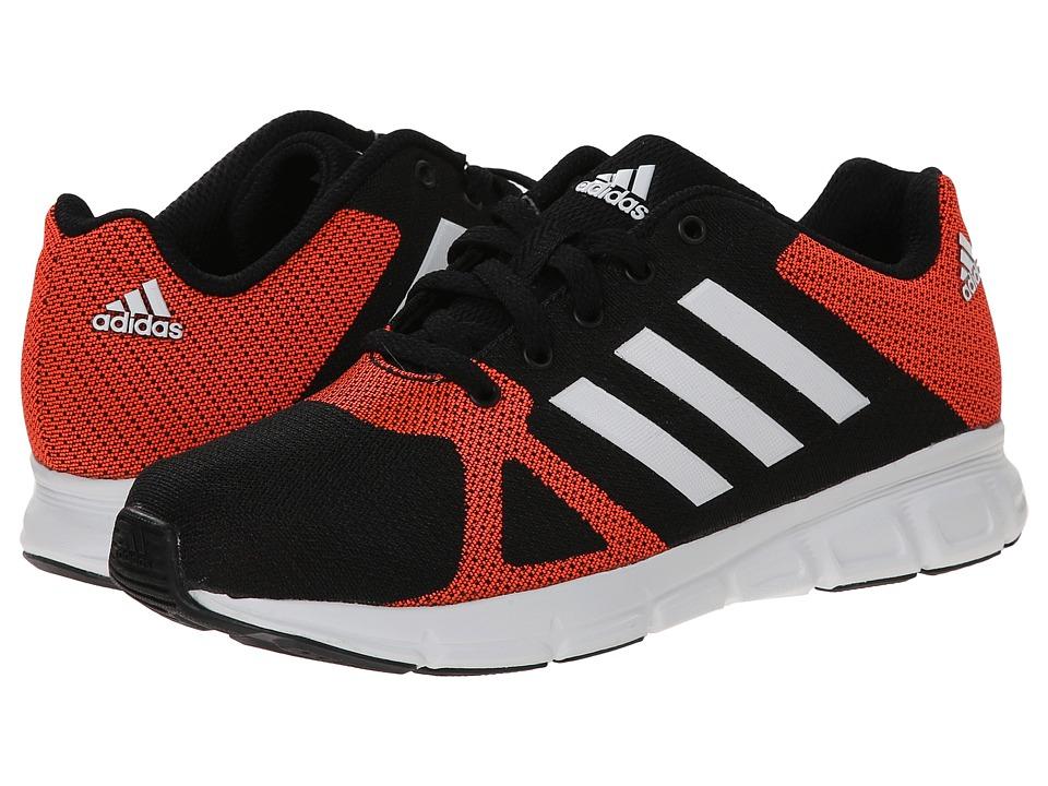adidas Kids - Hyperfast K - Print (Little Kid/Big Kid) (Black/Solar Red/White) Boys Shoes