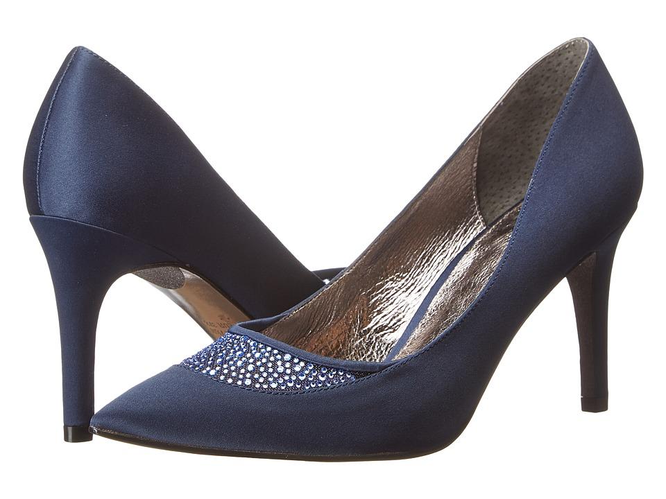 Adrianna Papell - Hampton (Navy Satin) High Heels