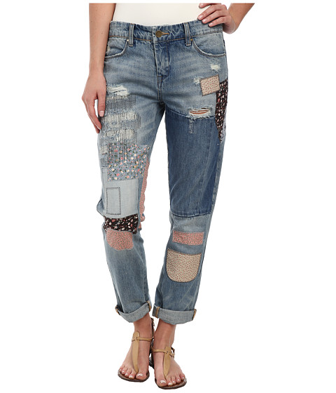 Blank NYC - Denim Multicolor Patchwork Skinny in Patch Things Up (Patch Things Up) Women