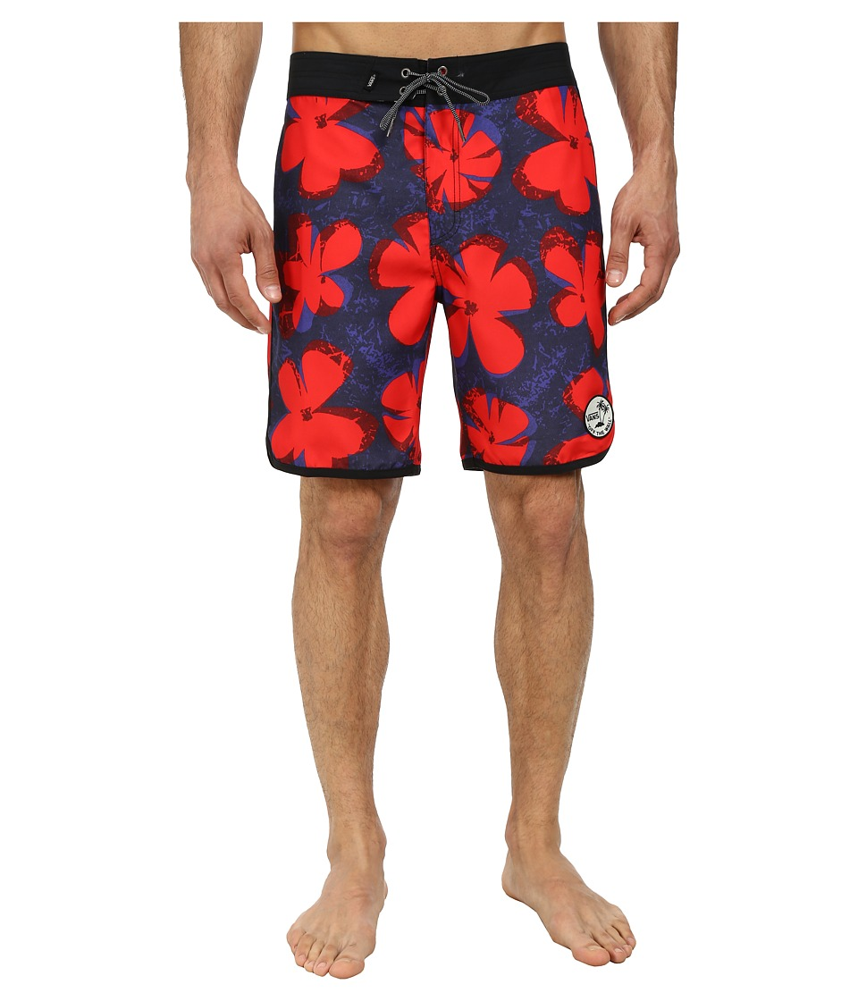 Vans - Planetary Boardshort (Pop Floral) Men's Swimwear