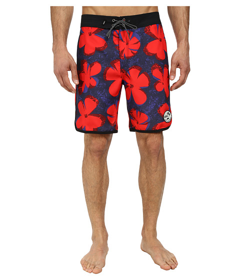Vans - Planetary Boardshort (Pop Floral) Men's Swimwear