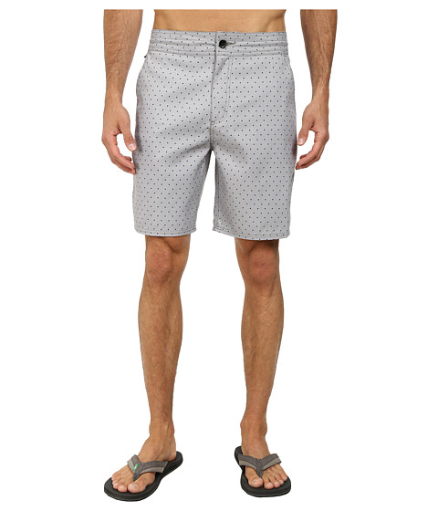 Vans - Oxford Polka Dot Decksider (Graphite) Men's Clothing