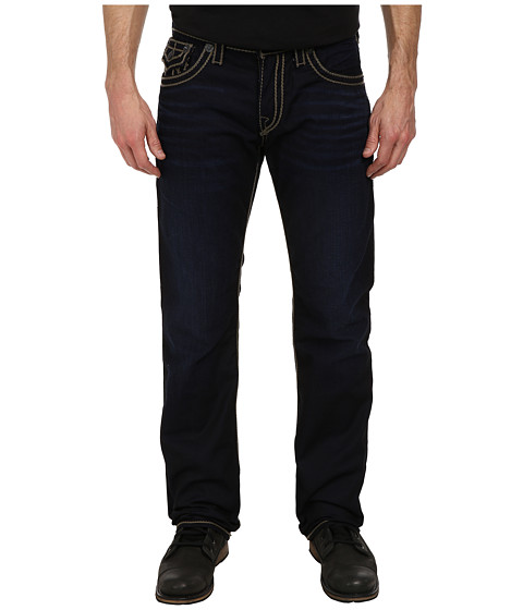 True Religion - Ricky Coated Rope Stitch in Dark Water Way (Dark Water Way) Men