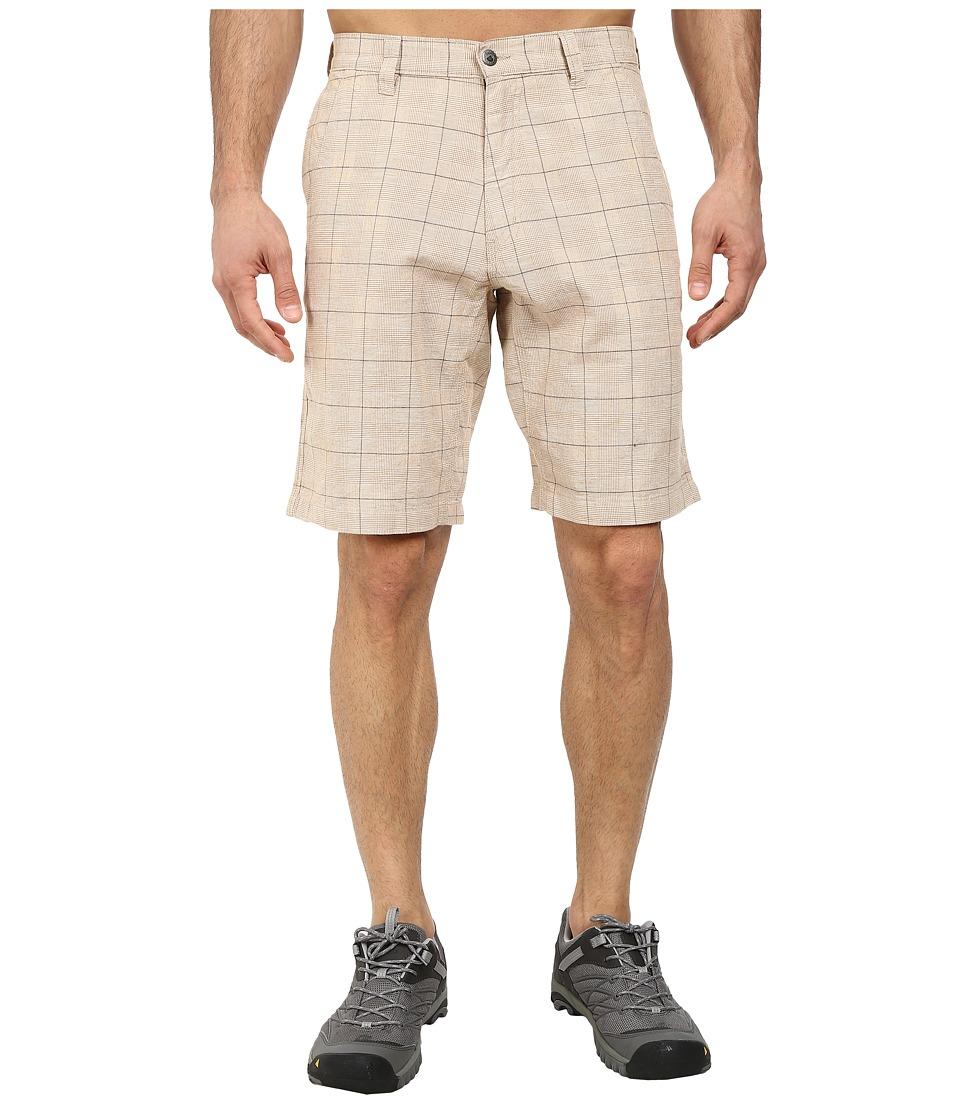 Mountain Khakis - Boardwalk Plaid Short (Yellowstone) Men's Shorts
