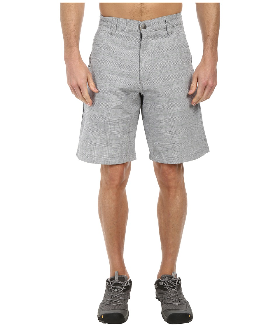 Mountain Khakis - Boardwalk Plaid Short (Ash) Men's Shorts