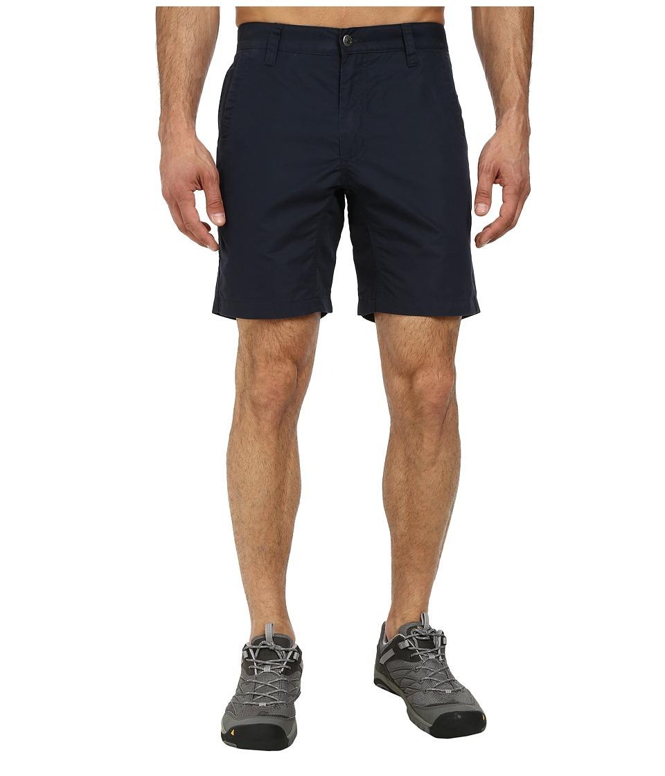 Mountain Khakis - Slim Fit Poplin Short (Navy) Men's Shorts