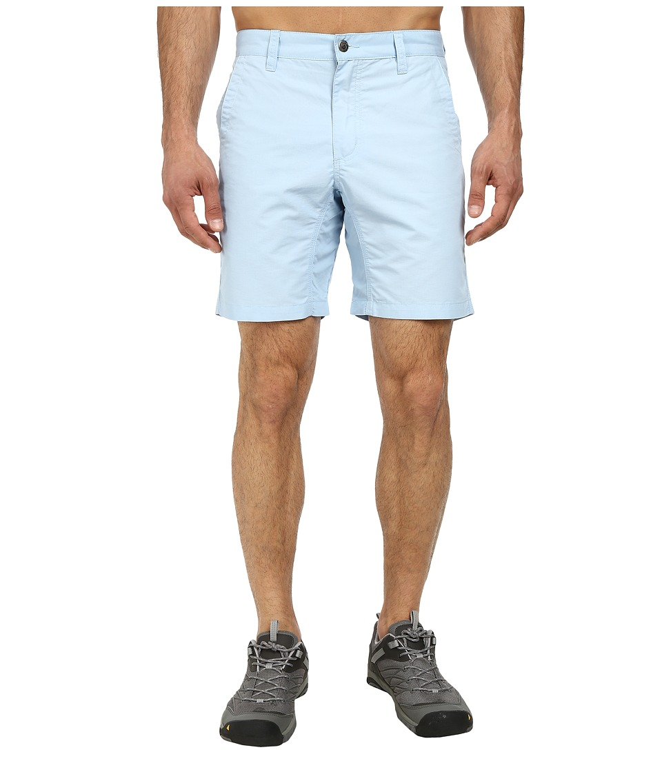 Mountain Khakis - Slim Fit Poplin Short (Morning Sky) Men's Shorts