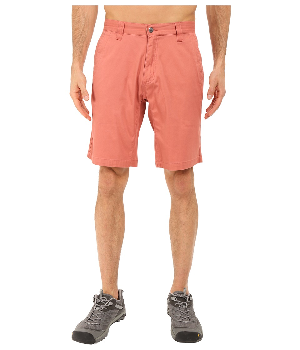 Mountain Khakis - Lake Lodge Twill Short (Summer Red) Men's Shorts