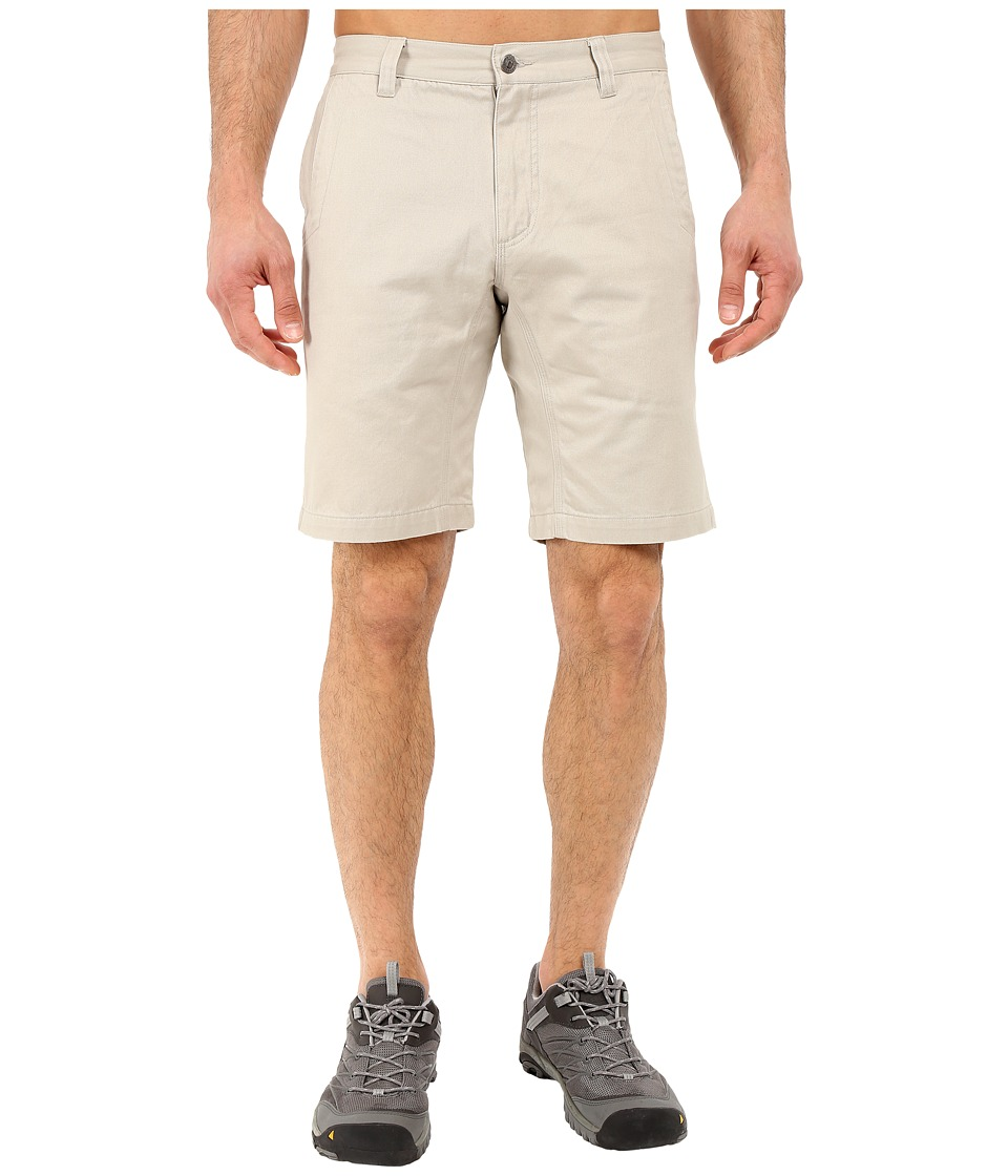 Mountain Khakis - Slim Fit Teton Twill Short (Stone) Men's Shorts