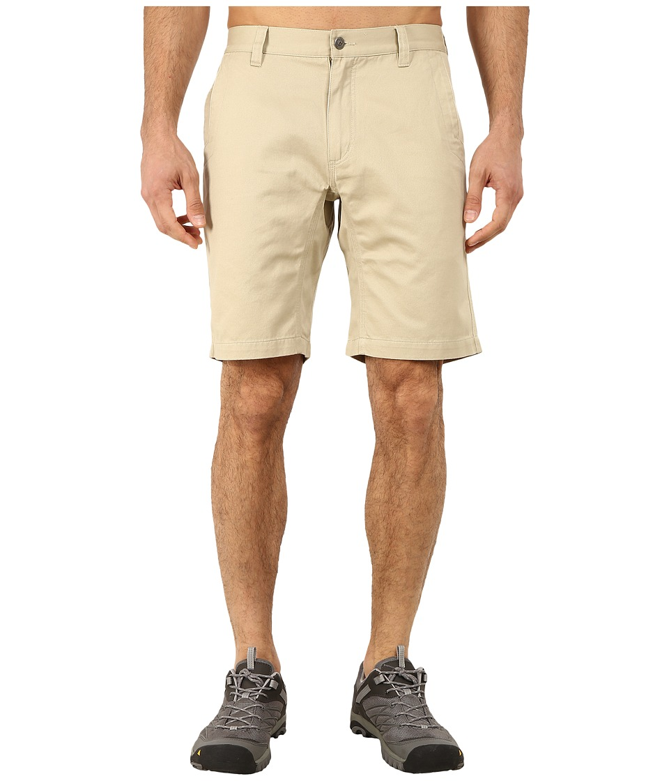 Mountain Khakis - Slim Fit Teton Twill Short (Sand) Men's Shorts