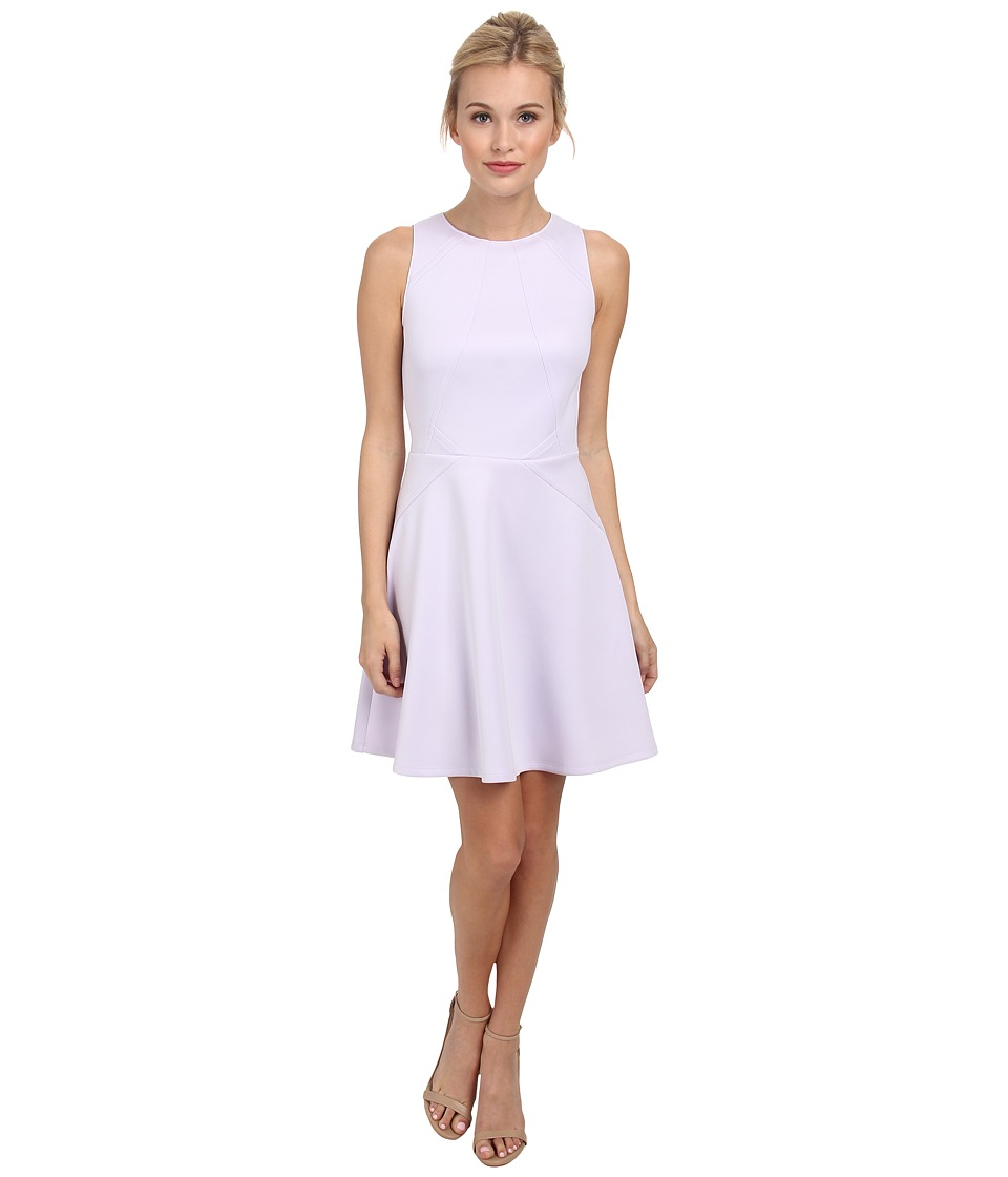 Ted Baker - Mitton Peplum Skater Dress (Light Purple) Women's Dress