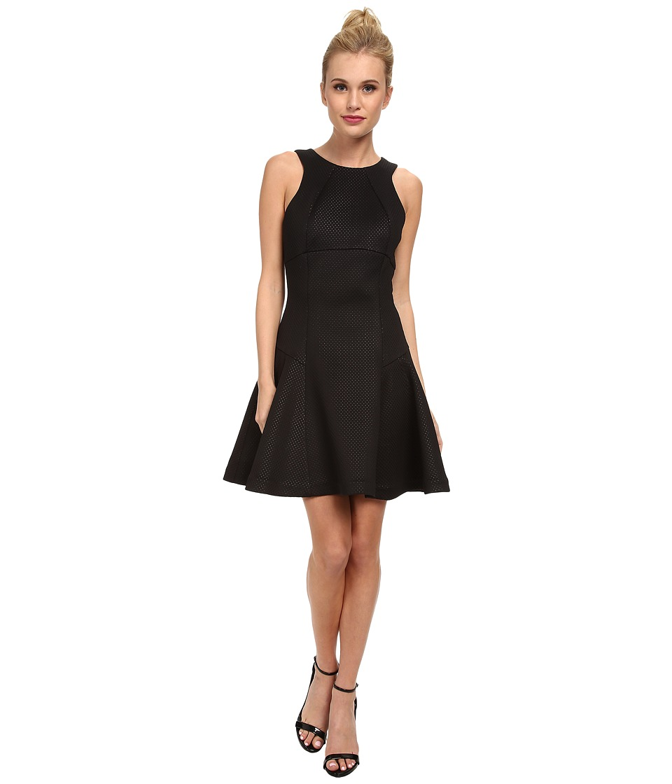 Ted Baker - Cidia Skater Skirt Sleeveless Dress (Black) Women's Dress