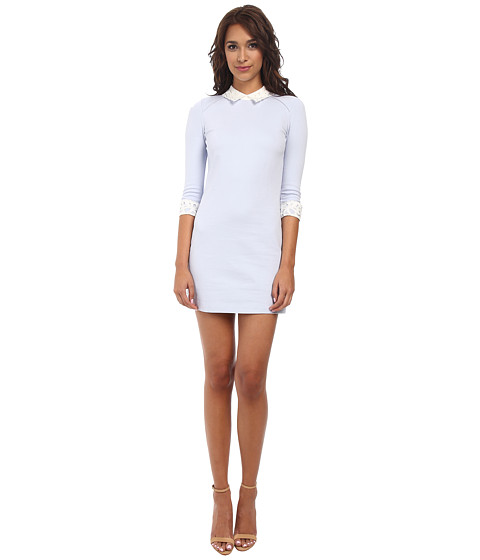 Ted Baker - Currie Lace Collar Tunic (Powder Blue) Women