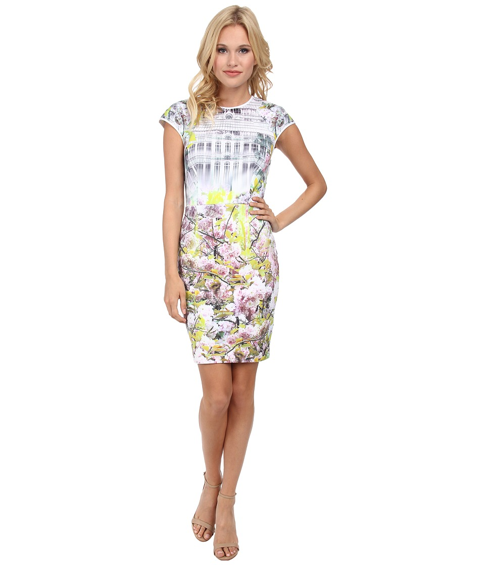 Ted Baker - Pancha Window Blossom Fitted Dress (Light Purple) Women