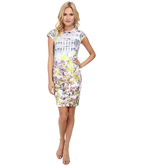 Ted Baker - Pancha Window Blossom Fitted Dress (Light Purple) Women's Dress