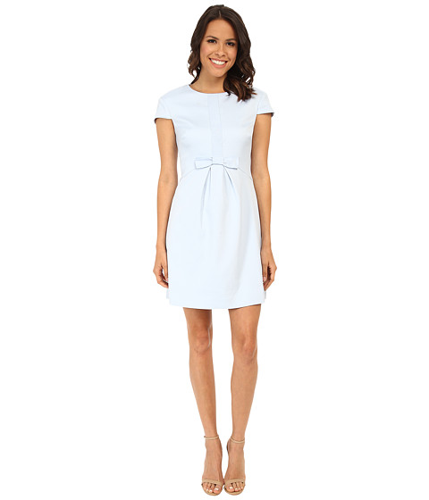 Ted Baker - Cosham Embellished Bow Front Dress (Light Blue) Women's Dress