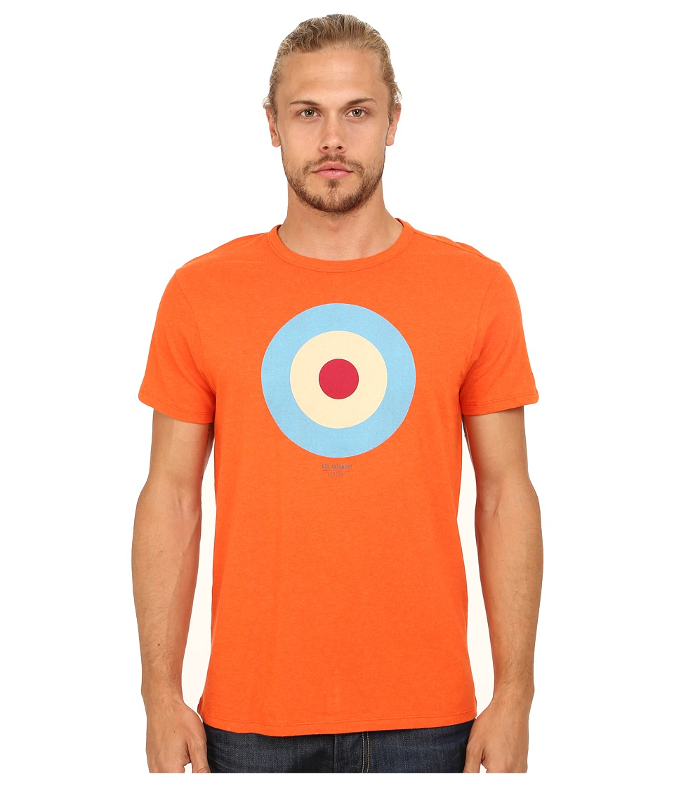 Ben Sherman - Target Tee Basic (Deep Coral Marl) Men