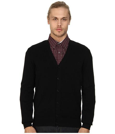 Ben Sherman The Cardigan (Jet Black) Men's Sweater