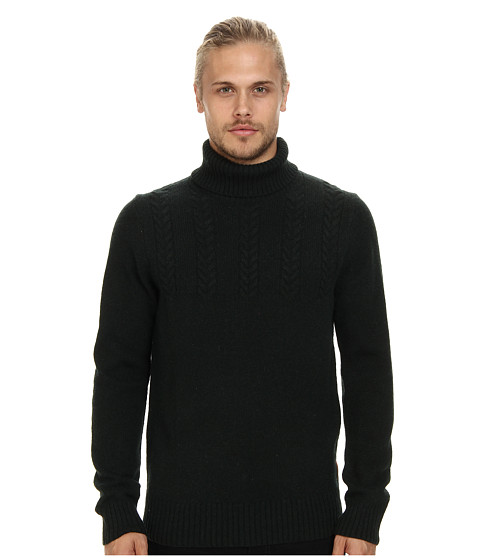 Ben Sherman - Roll Neck Sweater (Black Pine M) Men's Sweater