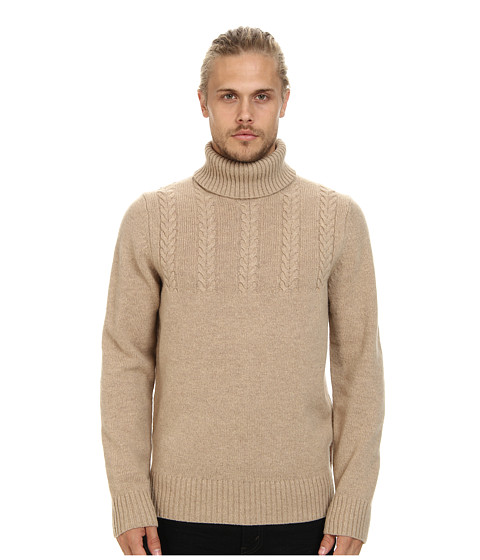 Ben Sherman - Roll Neck Sweater (Oatmeal Marl) Men