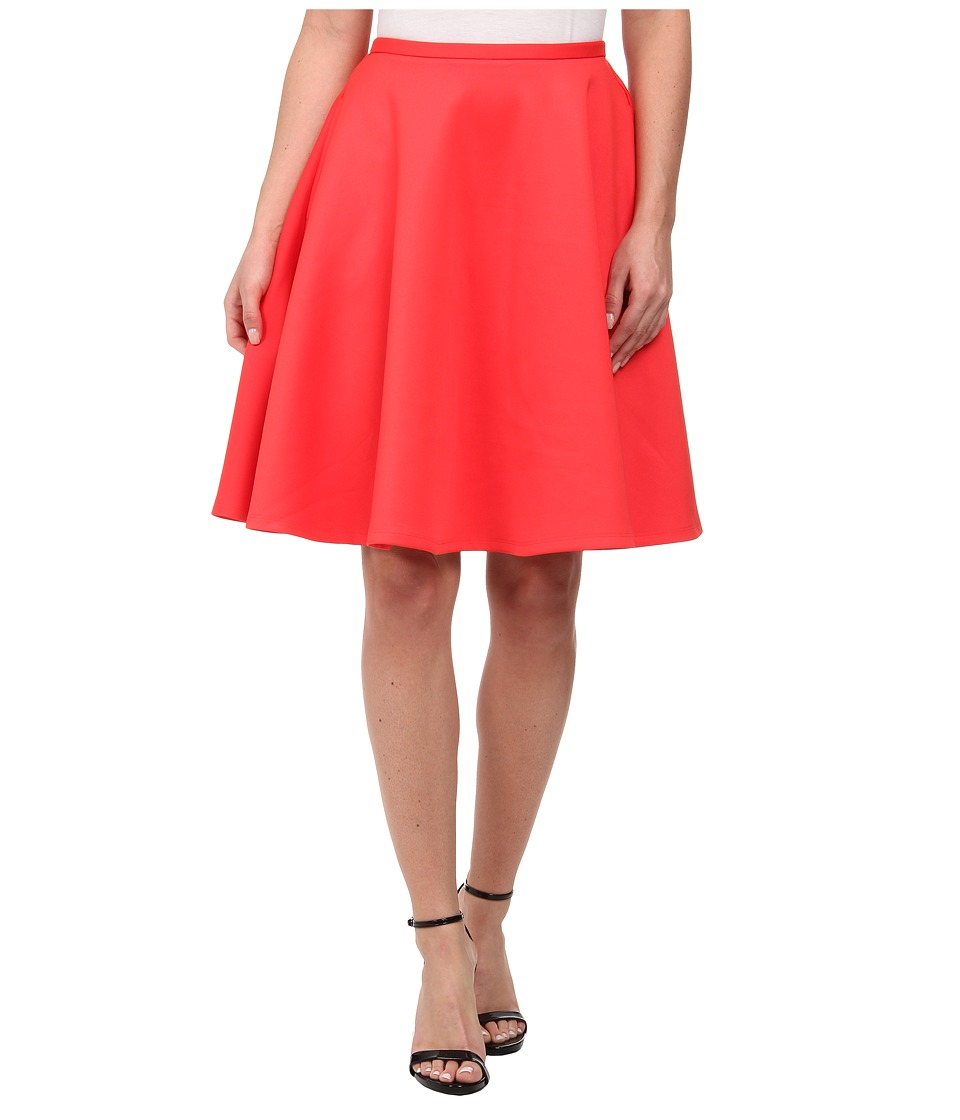 Ted Baker - Miloca Skater Pocket Skirt (Mid Orange) Women's Skirt