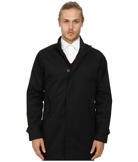 Ben Sherman - Harrington Mac Coat (Jet Black) Men