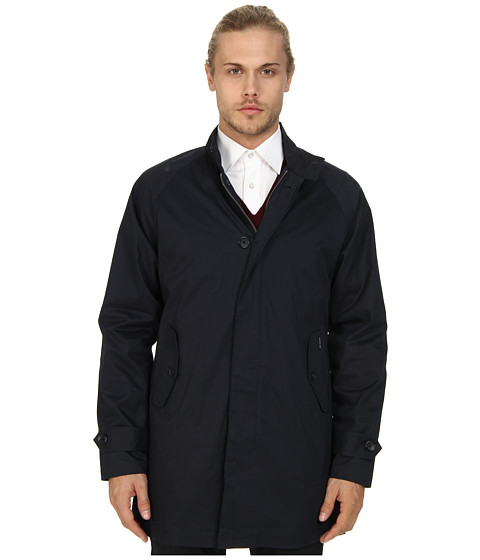 Ben Sherman - Harrington Mac Coat (Staples Navy) Men's Coat