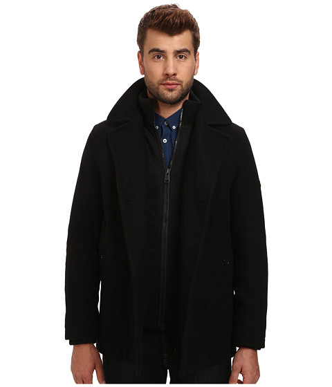 Ben Sherman - Peacoat Funnel Neck (Jet Black) Men